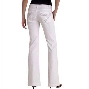 [7 For All Mankind] White Dojos